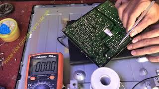 Sửa Chữa Tivi Sam sung 40EH5000 Có Đèn Đỏ Không Hình Hỏng Gì