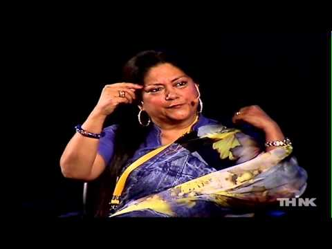 Voters Grill with Vasundhara Raje