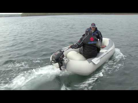 на рыбалку на моторе сузуки 2.5