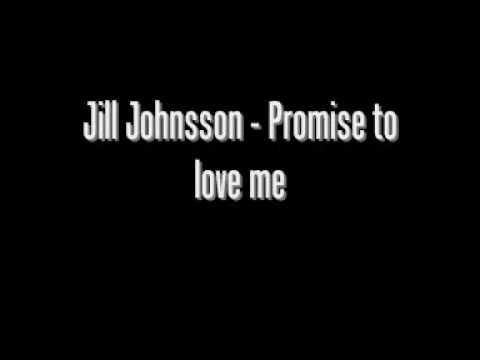 Jill Johnson - Promise To Love