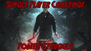 Friday The 13th Game Single Player Challenge Power Struggle Figuring Out All Objectives Part2