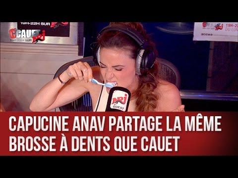 Capucine Anav partage la meme brosse à dent que Cauet - C'Cauet sur NRJ