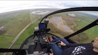 R44 Helicopter Solo Hour Building