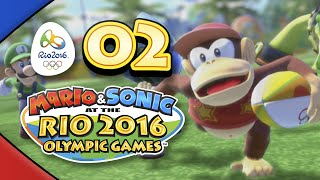Mario and Sonic at the Rio 2016 Olympic Games for Wii U: Part 02 - Rugby Sevens (4-Player)