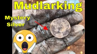 Mudlarking for river treasure mystery silver & An urbex of an abandoned railway station