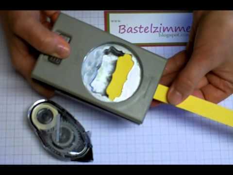 Etikett-Stanzer FISKARS 3in1 Tag Maker für Schilder mit Loch und Öse BASIC 975