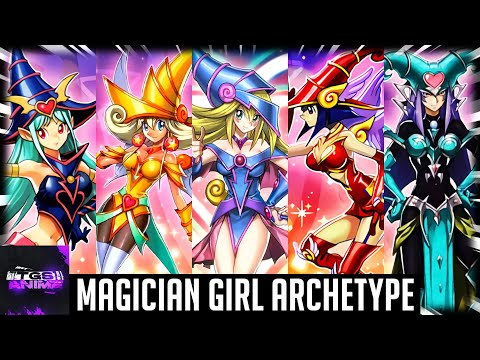 Yugioh Trivia: Magican Girl Archetype