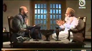 Syed Munawar Hasan Exclusive Interview - Ikhtelaf @ Aaj News - 3 Nov 2012