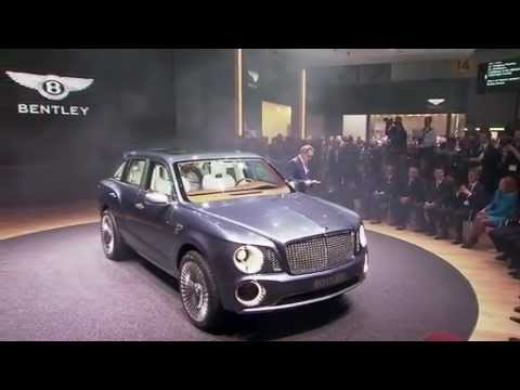 Bentley Press Conference at Geneva Motor Show 2012
