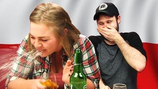 Irish People Taste Test Polish Beers