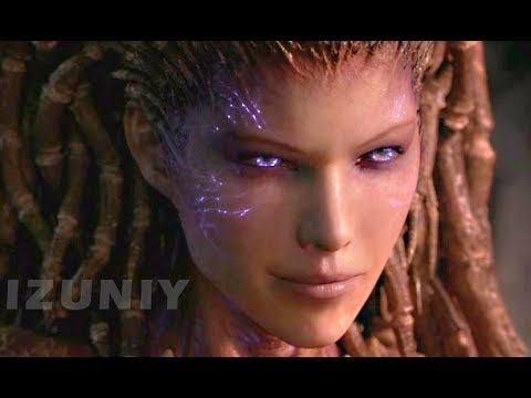 StarCraft 2 Heart of the Swarm All Cutscenes Story Cinematics Walkthrough - SC2 HOTS