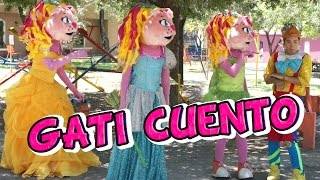 Cuento de Princesas -Gatita Kimy /Kids Play
