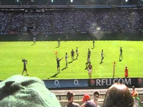 SOUTH AFRICA VS SAMOA – IRB seven's London (23-05-2010)  SF Plate