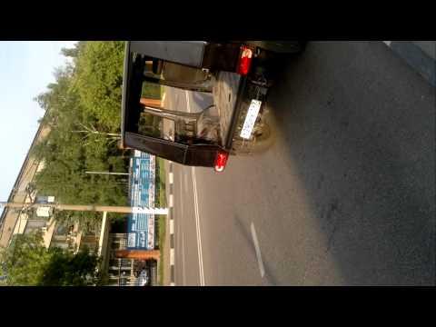 Гелендваген с мотором Тойота V8 4 литра БИ-Турбо первый выезд после года постройки часть2