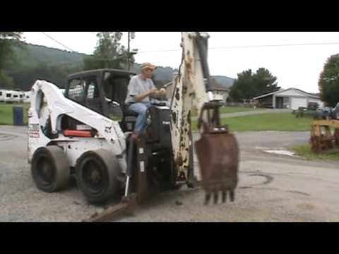 Bobcat 8811 Skid Steer Loader Backhoe Attachment For S220 S250 S300 For Sale Mark Supply Co