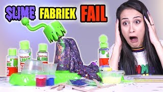 NICKELODEON SLIJM FABRIEK TESTEN - FAIL! || Slime Sunday