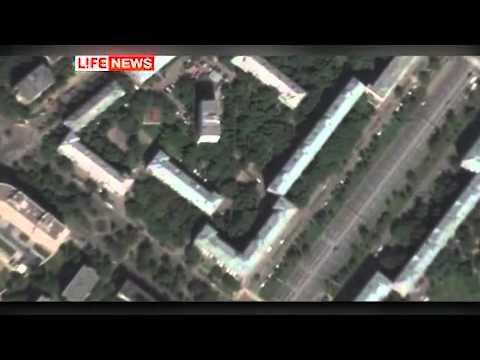 Убийца Буданова, попал в обзор камеры наблюдения.