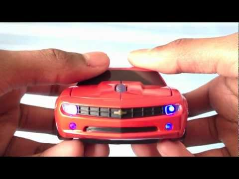 RoadMice: Orange Camaro Unboxing