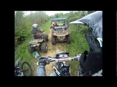 GoPro balade enduro Derbi quad buggy