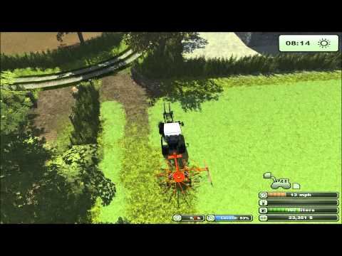 Farming Simulator 2013 Oak Farm mow that grass