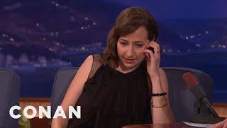When Nick Nolte Called Kristen Schaal's Mom  - CONAN on TBS