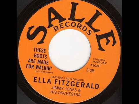 ELLA FITZGERALD These Boots Are Made For Walkin SALLE