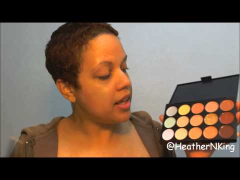 Makeup Artistry 101: How to Custom Blend Foundation using a Concealer Palette