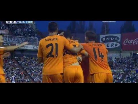 Valladolid vs Real Madrid 1-1 All Goals & Highlights 7/5/2014 HD