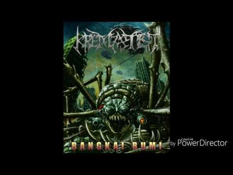 KREMATIST - Bangkai Bumi album preview (official vision record)