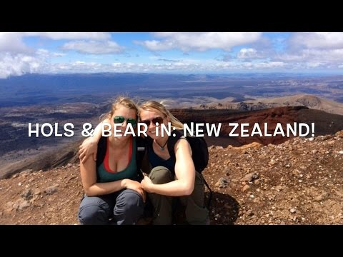 Hols & Bear's Travel Blog: New Zealand! (North Island)