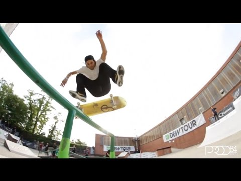 Paul Rodriguez Dew Tour 2014 Clips