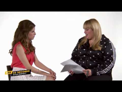 MAX 60 Seconds: Anna Kendrick (PITCH PERFECT)