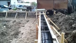House build: Foundation installation 2 part - Namo statyba: Rostverko irengimas 2 dalis.