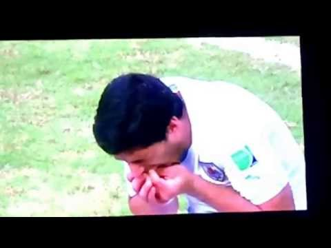 Luis Suarez banned from eating human flesh  Uruguay 1 Italy 0