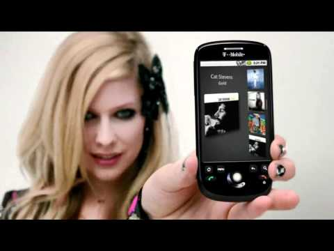 Avril Lavigne T Mobile Commercial (hd) video