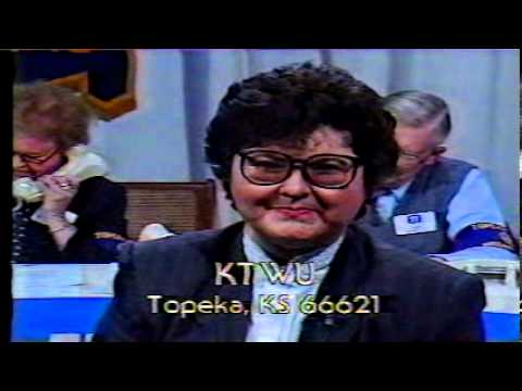 KTWU Topeka, KS - pledge break - late 1980s