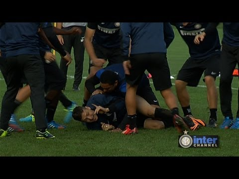 ALLENAMENTO INTER REAL AUDIO 25 10 2013