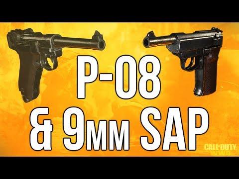 WW2 In Depth: P-08 & 9mm SAP Pistol (Call of Duty: WWII)
