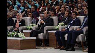 دون أن يذكر اسمه.. شاهد رد السيسي علي «محمد علي»