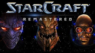 Starcraft Remastered Cała Gra PL Part 3. Kampania Terran.