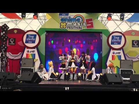 คุณหญิงรำวง cover μ's (love live!) @ Japan Anime and Music Festival Part 2/3