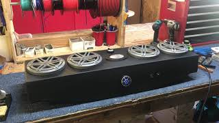 Club Car DS JL Audio Stereo System with INCREDIBLE sound! - Froghead Industries CCDS804