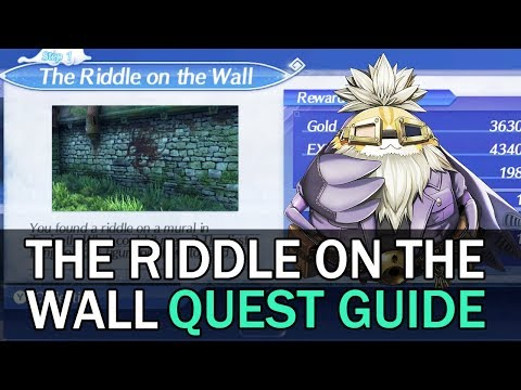 The Riddle on the Wall/Uncover the Truth Quest Guide (Mysterious Parts)  – Xenoblade Chronicles 2 #1