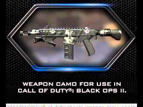 Call of Duty: Ghost Camo Codes Free (No Survey) [J