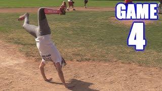 CIARA HITS THREE HOME RUNS IN ONE GAME! | On-Season Softball Series | Game 4