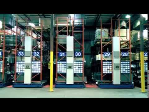 SAFERAK® 60 Industrial Powered Mobile Racking