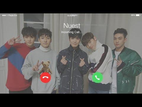 Nuest(뉴이스트) - Hello (여보세요) (2017 ver.) Lyrics (Eng/Han/Rom) [Phone Call]