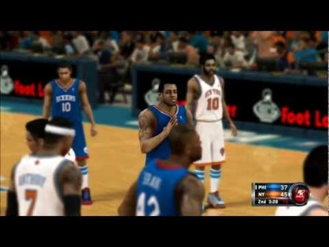 NBA 2K12 Greatest - 76ers vs Knicks [3/7]