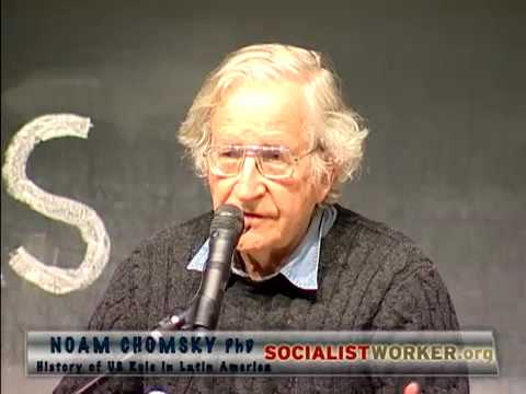 Noam Chomsky  - History of US Rule in Latin America