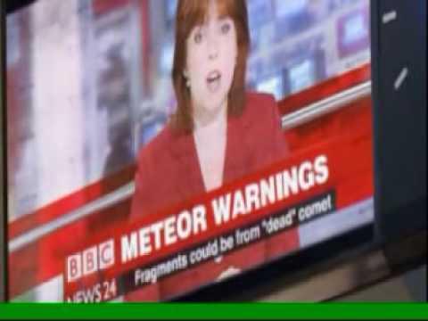 Asteroid hits Berlin